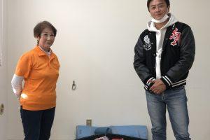 原田龍二さん訪問